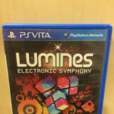Videojuegos y Consolas PS Vita: LUMINES - PS VITA (2ª MANO - BUENO). Lote 288424413