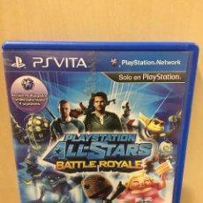 Videojuegos y Consolas PS Vita: PLAYSTATION ALL STAR BATTLE ROYALE - PS VITA (2ª MANO - BUENO). Lote 288424438