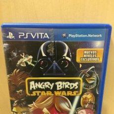 Videojuegos y Consolas PS Vita: ANGRY BIRDS STAR WARS - PS VITA (2ª MANO - BUENO). Lote 288424443