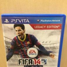 Videojuegos y Consolas PS Vita: FIFA 14 - PS VITA (2ª MANO - BUENO). Lote 288424458