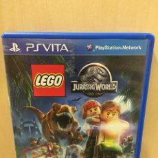 Videojuegos y Consolas PS Vita: LEGO JURASSIC WORLD - PS VITA (2ª MANO - BUENO). Lote 288424473