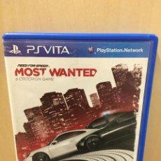 Videojuegos y Consolas PS Vita: NEED FOR SPEED MOST WANTED EDICION LIMITADA - PS V (2ª MANO - BUENO). Lote 288424478