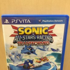 Videojuegos y Consolas PS Vita: SONIC & ALL-STARS RACING TRANSFORMED - PS VITA (2ª MANO - BUENO). Lote 288424483