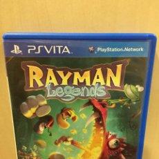 Videojuegos y Consolas PS Vita: RAYMAN LEGENDS - PS VITA (2ª MANO - BUENO). Lote 288424488