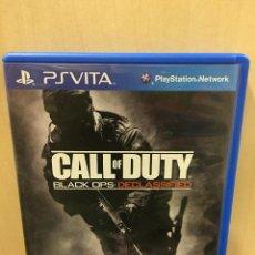 Videojuegos y Consolas PS Vita: CALL OF DUTY BLACK OPS DECLASSIFIED - PS VITA (2ª MANO - BUENO). Lote 288424503