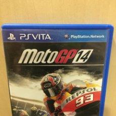 Videojuegos y Consolas PS Vita: MOTOGP 14 - PS VITA (2ª MANO - BUENO). Lote 288424508