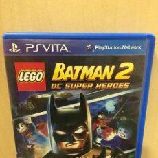 Videojuegos y Consolas PS Vita: LEGO BATMAN 2: DC SUPER HEROES - PS VITA (2ª MANO - BUENO). Lote 288424513