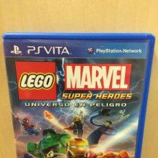 Videojuegos y Consolas PS Vita: LEGO MARVEL SUPERHEROES - PS VITA (2ª MANO - BUENO). Lote 288424518