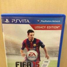 Videojuegos y Consolas PS Vita: FIFA 15 - PS VITA (2ª MANO - BUENO). Lote 288424528