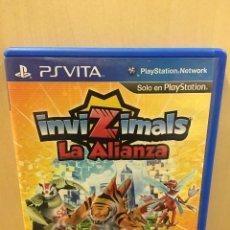 Videojuegos y Consolas PS Vita: INVIZIMALS LA ALIANZA - PS VITA (2ª MANO - BUENO). Lote 288424548