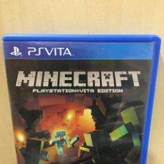 Videojuegos y Consolas PS Vita: MINECRAFT - PS VITA (2ª MANO - BUENO). Lote 288424563