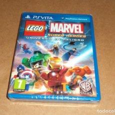 Videojuegos y Consolas PS Vita: LEGO MARVEL SUPER HEROES - UNIVERSO EN PELIGRO , A ESTRENAR PARA SONY PSVITA / VITA. Lote 289301453