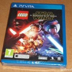 Videojuegos y Consolas PS Vita: LEGO STAR WARS EL DESPERTAR DE LA FUERZA , A ESTRENAR PARA SONY PSVITA / VITA. Lote 289302273