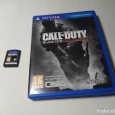Videojuegos y Consolas PS Vita: CALL OF DUTY BLACK OPS : DECLASSIFIED ( SONY PS VITA - PAL - ESP)(1). Lote 289324928