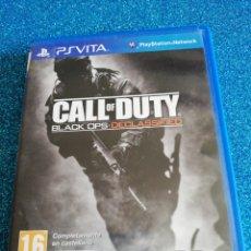 Videojuegos y Consolas PS Vita: CALL OF DUTY BLACK OPS DECLASSIFIED PS VITA. Lote 292310698