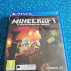 Videojuegos y Consolas PS Vita: MINECRAFT PLAYSTATION VITA EDITION PS VITA. Lote 292312783