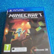 Videojuegos y Consolas PS Vita: MINECRAFT PLAYSTATION VITA EDITION PS VITA. Lote 292313193