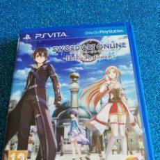 Videojuegos y Consolas PS Vita: SWORD ART ONLINE HOLLOW REALIZATION PS VITA. Lote 292314013