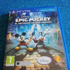Videojuegos y Consolas PS Vita: EPIC MICKEY EL RETORNO DE DOS HÉROES PS VITA. Lote 292314538