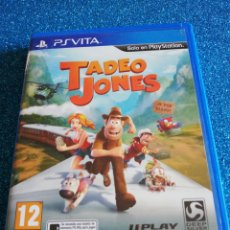 Videojuegos y Consolas PS Vita: TADEO JONES PS VITA. Lote 292315038