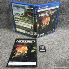 Videojuegos y Consolas PS Vita: MINECRAFT PLAYSTATION VITA EDITION JAP SONY PS VITA. Lote 293683523