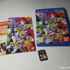 Videojuegos y Consolas PS Vita: DRAGON BALL Z - BATTLE OF Z ( SONY PS VITA - PAL -ESP)(2). Lote 293874003