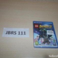 Videojuegos y Consolas PS Vita: PSP VITA - LEGO BATMAN 3 MAS ALLA DE GOTHAM , PAL ESPAÑOL , PRECINTADO. Lote 293998978