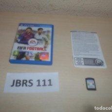 Videojuegos y Consolas PS Vita: PSP VITA - FIFA FOOTBALL , PAL ESPAÑOL , COMPLETO. Lote 293999368