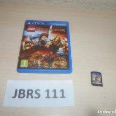 Videojuegos y Consolas PS Vita: PSP VITA - LEGO EL SEÑOR DE LOS ANILLOS , PAL ESPAÑOL , COMPLETO. Lote 293999608