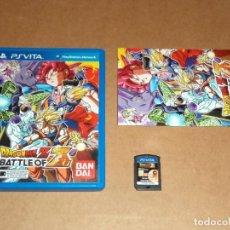 Videojuegos y Consolas PS Vita: DRAGON BALL Z : BATTLE OF Z PARA SONY PSVITA / VITA , PAL. Lote 295329518
