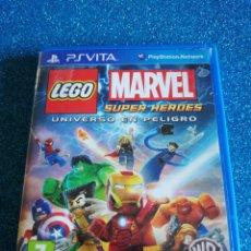 Videojuegos y Consolas PS Vita: LEGO MARVEL SUPER HEROES PS VITA. Lote 295497193
