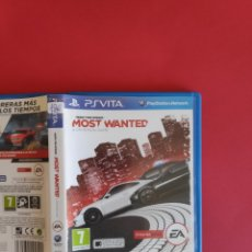 Videojuegos y Consolas PS Vita: NEED FOR SPEED: MOST WANTED PSVITA. Lote 295815293