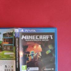 Videojuegos y Consolas PS Vita: MINECRAFT: PLAYSTATION VITA EDITION. Lote 295815403