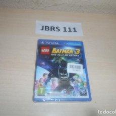Videojuegos y Consolas PS Vita: PSP VITA - LEGO BATMAN 3 MAS ALLA DE GOTHAM , PAL ESPAÑOL , PRECINTADO. Lote 295938038