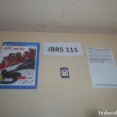 Videojuegos y Consolas PS Vita: PSP VITA - NEED FOR SPEED - MOST WANTED , PAL ESPAÑOL , COMPLETO. Lote 295938208