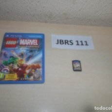 Videojuegos y Consolas PS Vita: PSP VITA - LEGO MARVEL SUPER HEROES - UNIVERSO EN PELIGRO , PAL ESPAÑOL , COMPLETO. Lote 295938333