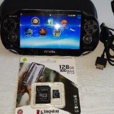 Videojuegos y Consolas PS Vita: PS VITA 128GB OLED 3.60. Lote 295957223