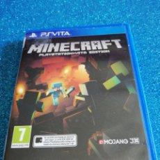 Videojuegos y Consolas PS Vita: MINECRAFT PS VITA VIDEOJUEGO. Lote 295973428