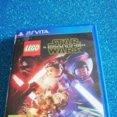 Videojuegos y Consolas PS Vita: LEGO STAR WARS EL DESPERTAR DE LA FUERZA PS VITA. Lote 295973693