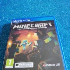 Videojuegos y Consolas PS Vita: MINECRAFT PS VITA VIDEOJUEGO. Lote 295974153