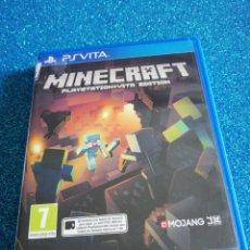 Videojuegos y Consolas PS Vita: MINECRAFT PS VITA VIDEOJUEGO. Lote 295974343