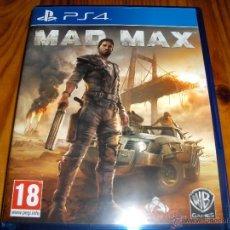 Videojuegos y Consolas PS4: MAD MAX PS4 EXCELENTE ESTADO. Lote 52662764