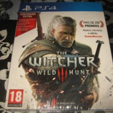 Jeux Vidéo et Consoles: THE WITCHER WILD HUNT PS4 PAL ESPAÑA - PRECINTADO EDICION CON CONTENIDO EXTRA PORTADA CARTON. Lote 58125683