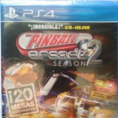 Videojuegos y Consolas PS4: THE PINBALL ARCADE SEASON 2 PS4. NUEVO, PRECINTADO. JUEGO FISICO.. Lote 62107560
