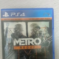 Videojuegos y Consolas PS4: JUEGO PS4 COMPLETO METRO REDUX. Lote 67743709