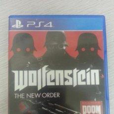 Videojuegos y Consolas PS4: JUEGO PS4 COMPLETO WOLFENSTEIN - THE NEW ORDER. Lote 67743985