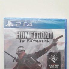 Videojuegos y Consolas PS4: HOMEFRONT: THE REVOLUTION - PLAYSTATION 4 - PAL/ESP - NUEVO A ESTRENAR, PRECINTADO (INCLUYE DLC). Lote 78638925