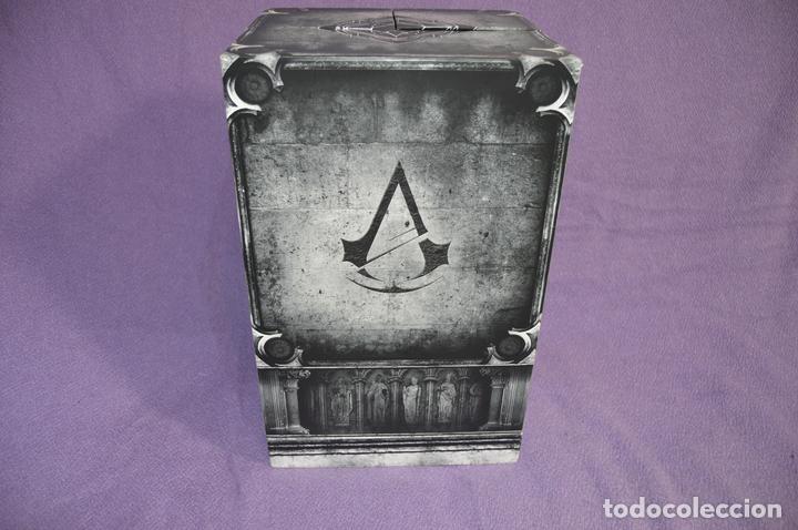 Videojuegos y Consolas PS4: Assasin´s Creed Unity Notredame Edition - Caja Vacia - Edición Coleccionista - Foto 6 - 79655793