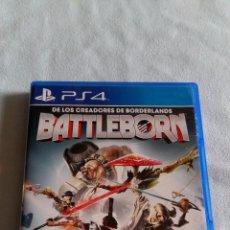 Videojuegos y Consolas PS4: BATTLEBORN - PLAYSTATION 4 - PAL/ESP - CONTIENE MANUAL DE INSTRUCCIONES EN ESPAÑOL -NO REBAJO PRECIO. Lote 64401903