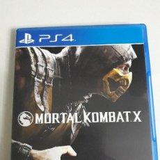 Videojuegos y Consolas PS4: JUEGO PLAY STATION PS4 MORTAL KOMBAT X NUEVO SIN USO VER FOTOS. Lote 88895107